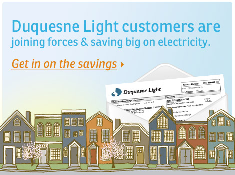 Save On Your Duquesne Light Electric Bill
